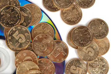 coins on DVD