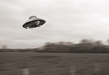 Photo sur Plexiglas UFO Ufo Fake 1