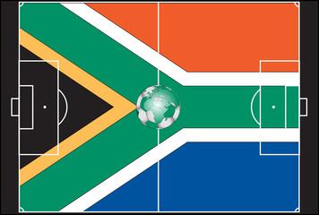 2010 world cup football  vector