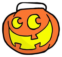 Happy Jack O Lantern Pumpkin
