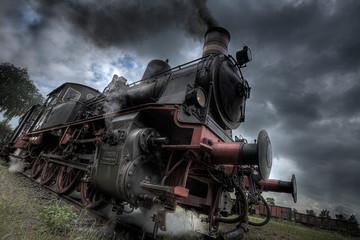 Steamtrain departing