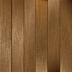 Wooden Planks Vector Background