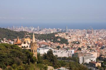 Barcelona - cityscape from Tibidabo
