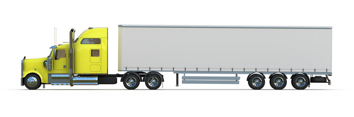 US Truck - side view