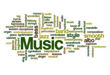 Music - Word Cloud