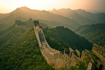 Tuinposter Chinese Muur Great Wall