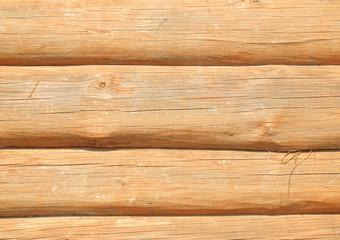 Timbered wall