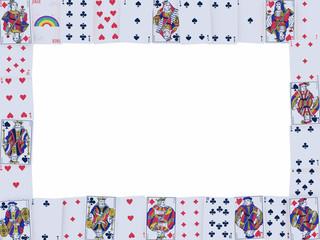 cornice carte da gioco