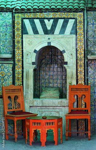 Salon tunisien photo libre de droits sur la banque d for Salon tunisien