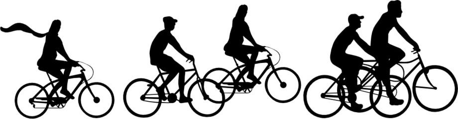 Canvas Print - CYCLO EN TOURISME