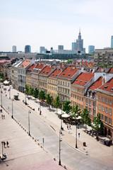 Warsaw - Krakow Suburb avenue