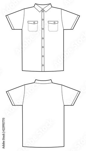 u0026quot camisa manga corta hombre blanco u0026quot  stock image and royalty