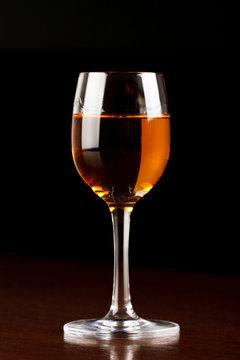 Glass or Amaretto