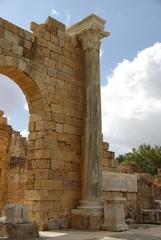 Wall Mural - Colonne de marbre, Libye