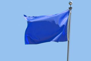 Wall Mural - Blue Flag