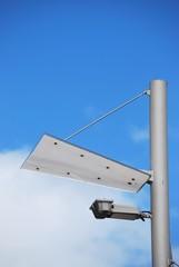 Solarbetriebene Strassenlaterne
