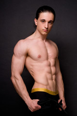 Muscled male
