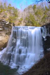 Burgess Falls Water Falls