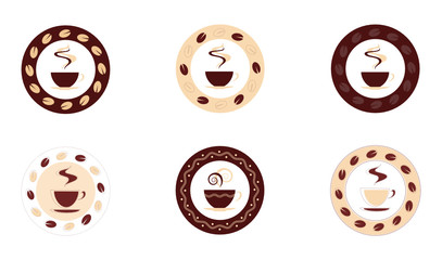Coffee inspired icons