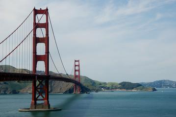 Golden Gate Bridge from Fort Point