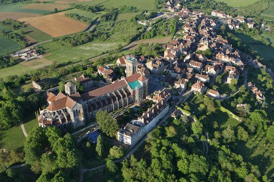 Basilique de Vézelay en Bourgogne, yonne 89450