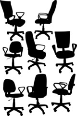 eight office chairs collection