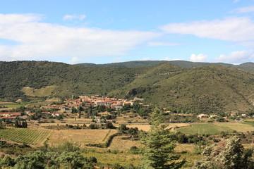 Village de Cucugnan,Corbières