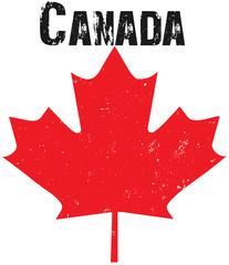 Grunge Canadian Emblem