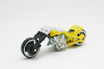 Model Motorcycle toy or faked motorcycle