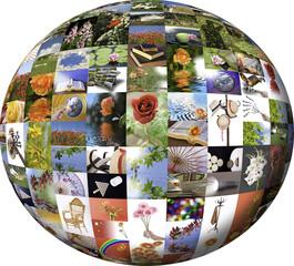 Esfera de fotos