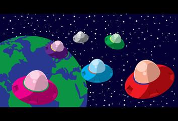 UFO Colonies