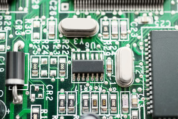 Computer motherboard with integrated chipset
