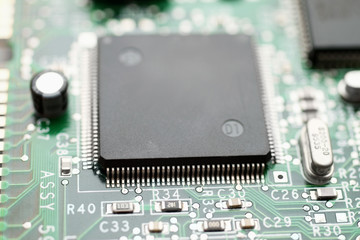 Integrated micor processor on computer module