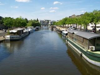 Nantes - L'Erdre et ses quais