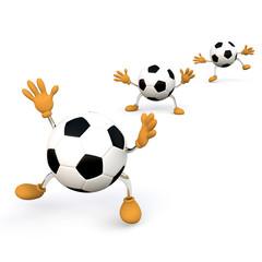 Happy Footballs