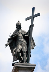 Kings Zygmunt's statue in Warsaw