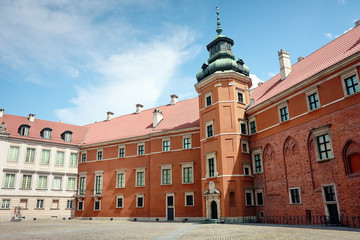 Royal Castle in Warsaw - Yard