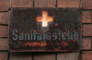 Sanitätsstelle