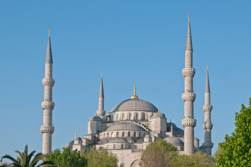 The Minarets of the Blue Mosque, Istanbul