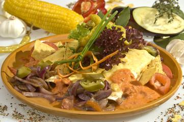Tacos w pork meat