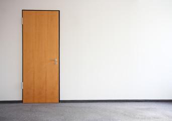 Zimmer Raum Büro Holztür