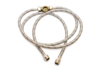 plumbing tube in a metal sheath
