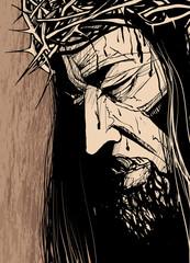 Christ 's face
