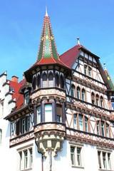Konstanz, Bodensee - Fachwerkhaus mit Turm