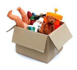 Caisse d'objets - Box of junks