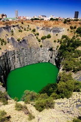 Perspective of the Big Hole in Kimberley