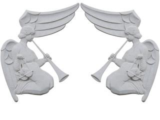angeles de maceta y de buena calidad