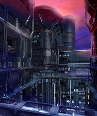 Futurystyczne miasto 3