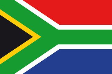 Fahne Suedafrika