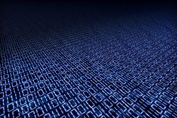 Binärcode als digitale Ebene